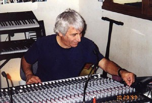 Russ Terrana running the master mix