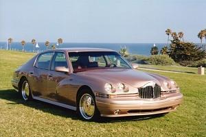 Prototype Packard sedan