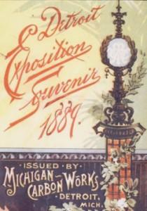 Detroit Exposition Souvenir 1889