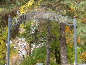 Ganong Cemetery Gates