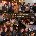 Highlights from January 30th Detroit Trivia Soiree–Sold-Out at the Historic Two Way Inn