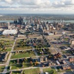 New and Old Frontiers:  Above Detroit with Aerial Photographer Alex MacLean